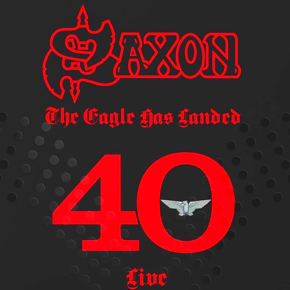 Saxon THE EAGLE HAS LANDED 40